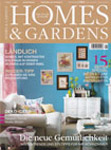 "WOHNBLOCK in the magazine ""Homes & Gardens"" 1/2012"